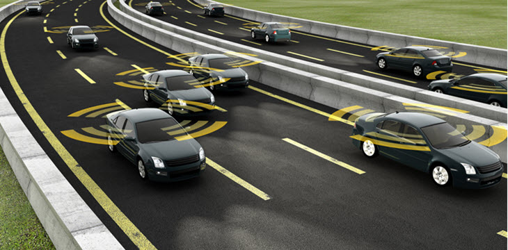 Autonomous Cars on Road